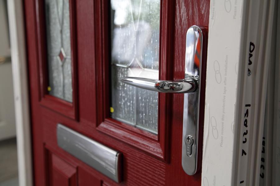 photo of new door