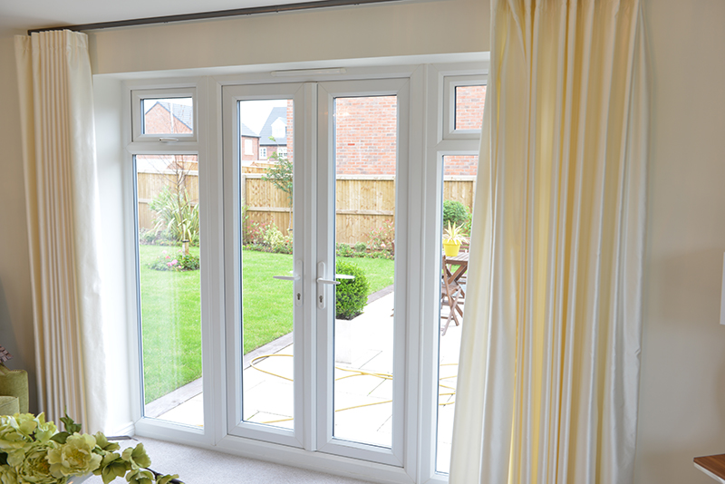 Pvc U French Doors In Manchester Upvc Windows In Warrington